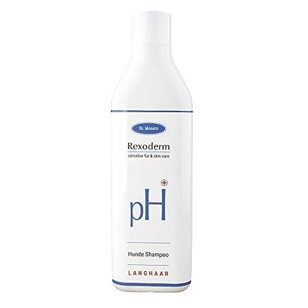 Dr. Mosers REXODERM Hundeshampoo   Sensitiv – beruhigt die Haut, wirkt gegen Juckreiz   Anti-bakteriell & angenehmer…