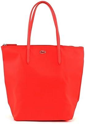LACOSTE L.12.12 Concept Vertical Tote Bag Naranja.com