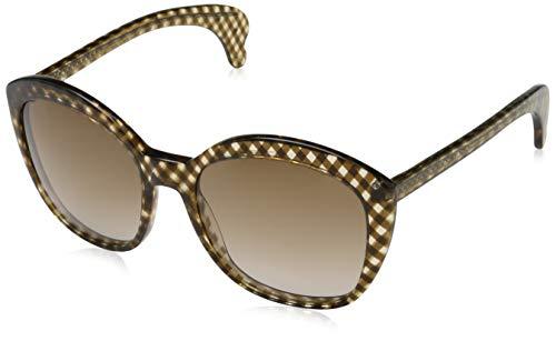 Bottega veneta occhiali da sole b.v.196/s (56 mm) cross brown