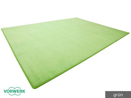 Preisvergleich Produktbild Vorwerk Bijou grün der HEVO Spielteppich nicht nur für Kinder 200x400 cm