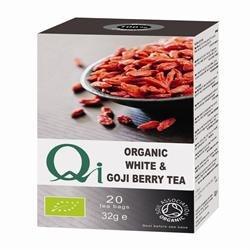 Qi Organic White Tea & Goji Berry Tea 20 Bags