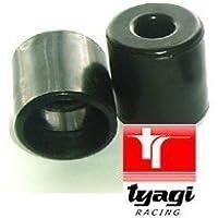 Intrecciato tubo carburante con estremità finiture silicone 10 mm - 12 mm