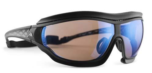 adidas Tycane Pro Outdoor Black matt/Vario 2-4- Sonnenbrille, Größe:S