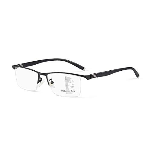 LQUIDE Intelligente Zoom-Gleitsichtbrillen Mit Multifokus, Hochauflösende Kunstharzlinsen Für Damen- Und Herrenbrillen, Rahmenbreite Einstellbar -