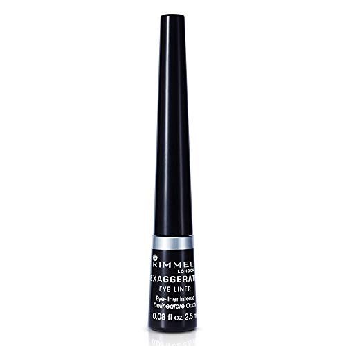 Exaggerate Eye Liner by Rimmel London Black 001, 2.5ml