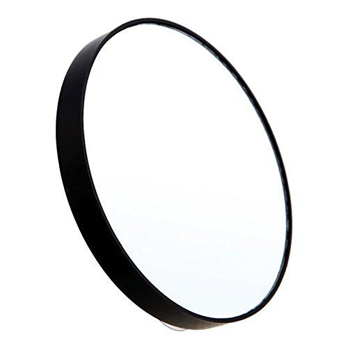 ROPALIA 5x 10x 15x Miroir de maquillage Loupe avec ventouses
