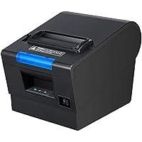 80mm High Speed Printing DIP Function Thermal Receipt Printer MUNBYN POS Printer with Auto Cutter Printer USB Serial Ethernet Windows Mac Driver ESC/POS RJ11 RJ12 Cash Drawer