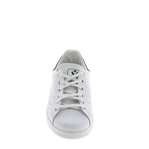 Victoria Deportivo Basket Piel, Sneakers Basses mixte adulte Blanc-Vert