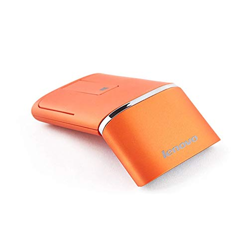 HM2 Drahtlose Gaming-Maus Dual-Modus-Wireless-Touch-Maus mit USB-Schnittstelle - für Computer PC Laptop-Gaming-Maus,Orange -