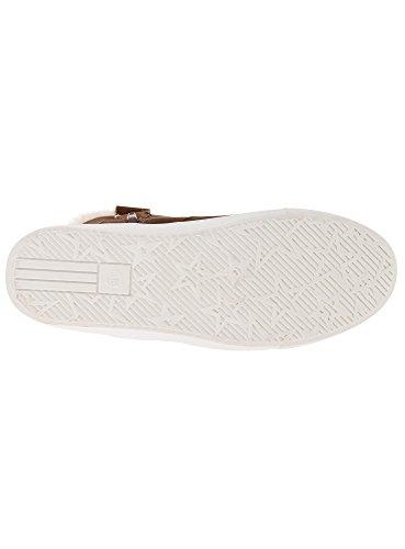 oodji Ultra Femme Chaussures Chaudes Doublées de Fausse Fourrure Marron (3900N)