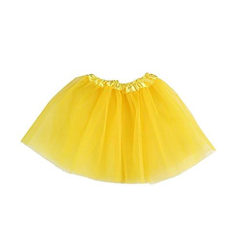 ESHOO Kindermädchen-Ballett-Tanz-Ballettröckchen-Kostüm-Partei-Prinzessin-Rock-Kleid 3 (Tanz Kostüme Pettiskirt)