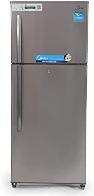 Midea 520 Liters Top Mount Refrigerator, Silver - HD520FWES, 1 Year Warranty