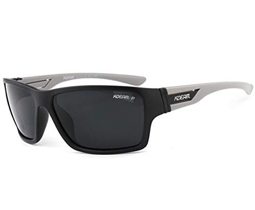 Auto Fährt Sonnenbrille Männer Reflektierende Farbe Objektiv Brille, Damen Sonnenschirm Mode Sonnenbrillen Damen UV-Sonnenbrille,Gray