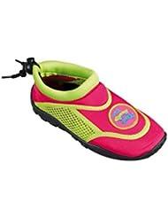 BECO Kinder Surfschuhe Badeschuhe TTT Aquaschuhe Strandschuhe Gr 29/30 pink