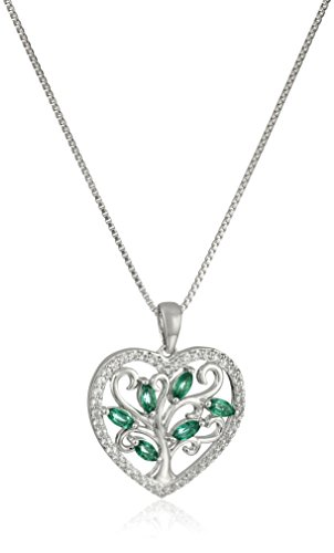 xpy-sterling-silver-heart-family-tree-with-created-emerald-and-created-white-sapphire-accent-pendant