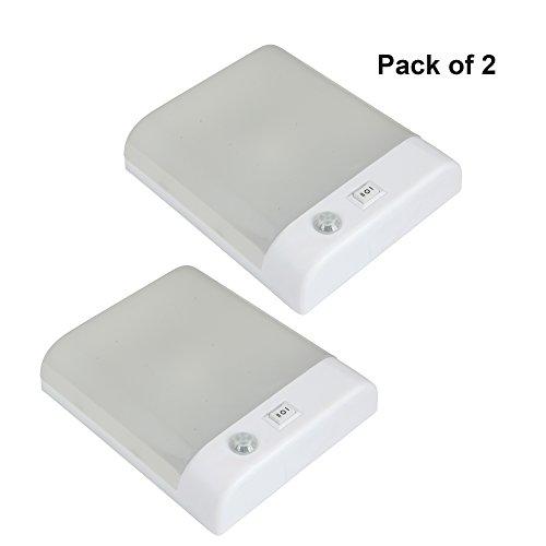 Facon 12V LED PIR Sensor Dome Light for Motorhome RV Car Camper Trailer Interior Light