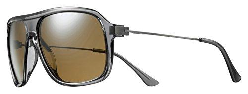 Solar Isaak Sonnenbrille, polarisiert Herren, Grau/Transparent Preisvergleich