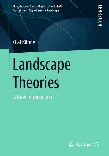 Landscape Theories: A Brief Introduction (RaumFragen: Stadt – Region – Landschaft)