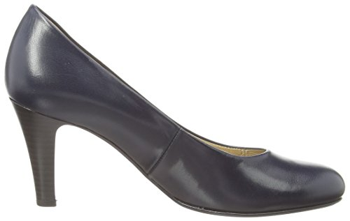 Gabor 05.210.36 Damen Pumps Blau (dark Blue Leather)