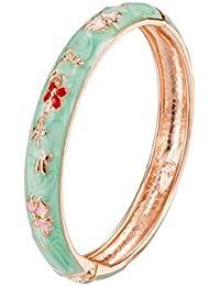 UJOY Baby Bracelet Set of 2 Gift Pack Enamel Gold Plated Handmade