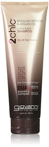 Giovanni Hair Care Products 2Chic Keratin & Argan Oil Shampoo 235 ml