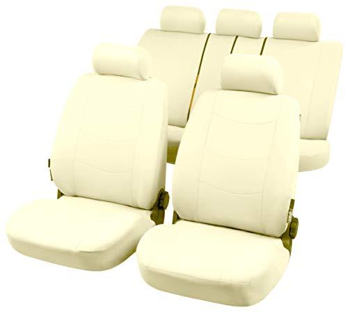 RMG R24V024 coprisedili per ALFA 159 fodere auto colore beige chiaro e scuro compatibili con sedili con airbag braciolo e sedili sdoppiabili