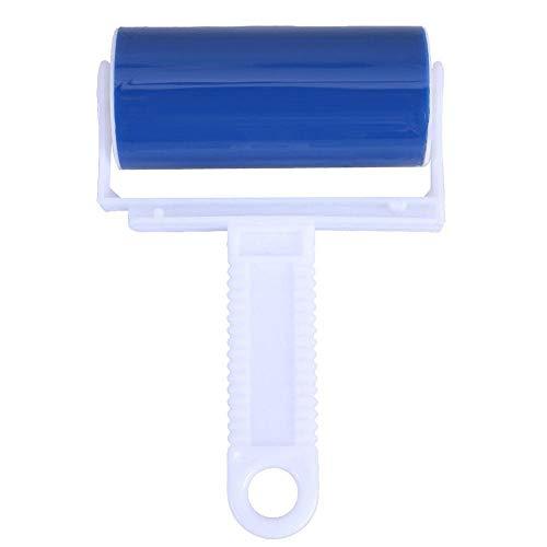 ZJHYSDQ Kleidung Flusenentferner Roller Reiniger Fusselrolle Klebrige Silikon Staub Wischer Pet Haarentferner Reinigungsbürste Werkzeuge