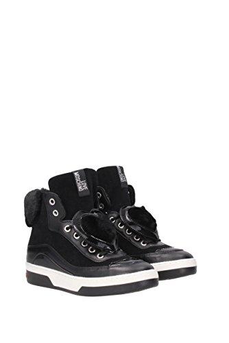 Camoscio JA15343G04JJ1 Sneakers Donna Love Nero Moschino EU wSUf4