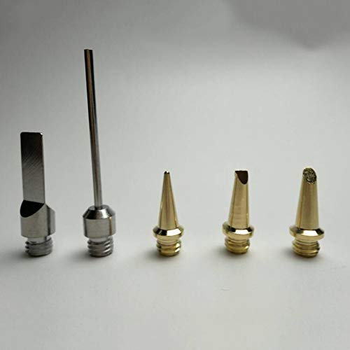 üftete Flamme Gas Schweißer Torch Pen DIY Tool Kit schnurlose Lötkolben Tipps-Random ()
