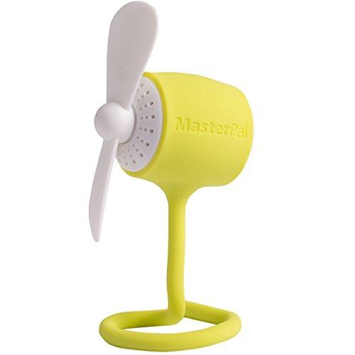 Preisvergleich Produktbild MasterPal Telego Fan: Ein Tragbarer Wasserdichter Wieder aufladbarer Leistungsstarker 10.000 RPM Ventilator mit Aroma Spender Funktion (Limette)