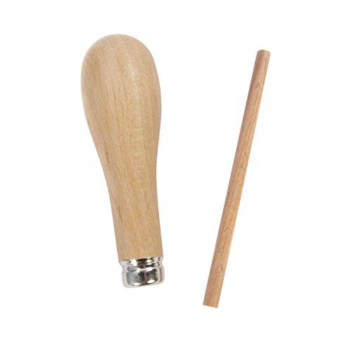 Abig Holzgriff mit Ausstoßer