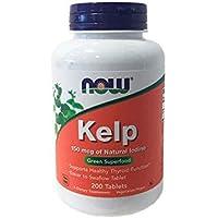 Now Foods | Kelp | 150 mcg Jod | 200 vegane Tabletten | glutenfrei