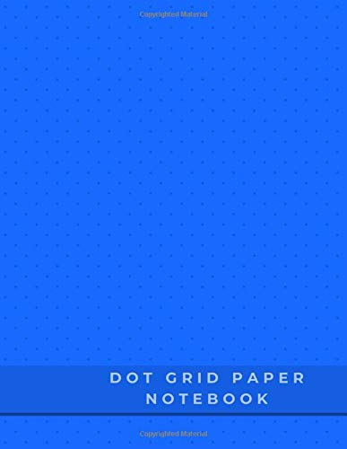 Dot Grid Paper Notebook: Dot Grid Paper Graph Dotted Journal Notebook Large 8.5 x 11 inches - 104 pages (Volumn 48)