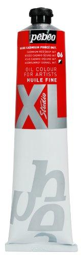 pebeo-200006-beaux-arts-huile-fine-studio-xl-1-tube-rouge-cadmium-fonce-imitation-200-ml