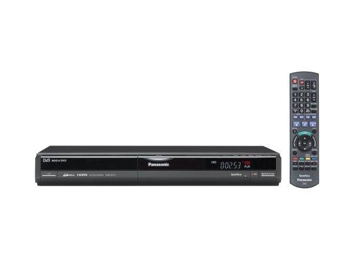 Panasonic DMR EX 77 EG DVD- und Festplatten-Recorder 160 GB (DivX-zertifiziert, Upscaling 1080i, HDMI) mit integriertem DVB-T Tuner schwarz