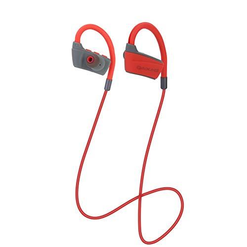 GAOWJ Auriculares para Correr, Bluetooth 4.2 Auriculares Deportivos inalámbricos con audífonos a Prueba de Sudor, Sonido estéreo, cancelación de Ruido. Se adaptan al Ciclismo de Ejercicio.