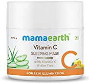 Mamaearth Vitamin C Sleeping Mask, 100 gm