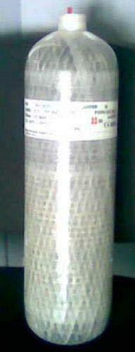 HTD Bouteille de Carbone 9 l 300 Bar en Fibre de Carbone léger avec lentille intérieure étanche à gaz