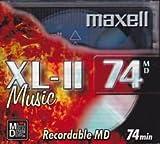 Maxell XL-II 74 min Minidisc
