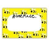 Samantha Barnes Honey Bee Homemade Labels (Pack of 18)