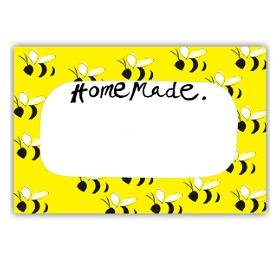 Samantha Barnes Honey Bee Homemade Labels (Pack of 18) Test