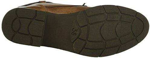 Marco Tozzi Damen 25110 Combat Boots Braun (Cognac Antic 410)