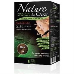 Santé verte - Nature & soin Blond 7N sans ammoniaque, sans paraben, sans silicone et sans résorcine