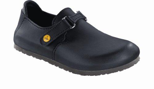 Birkenstock 583168-41-schmales Schuh LINZ Antistatik/Naturleder SCHWARZ Gr. 41 - schmales Fußbett