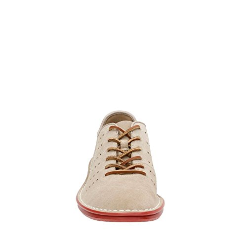 Clarks Tamho Race Lace Up scarpe Sand Suede