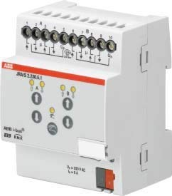 WindowMaster Shutter-Modul - ABB WEA 250 0202 JRA/S 2.230.5.1 Erweiterungsmodul für Gefahrenmeldesysteme 5706654004139 Shutter-modul