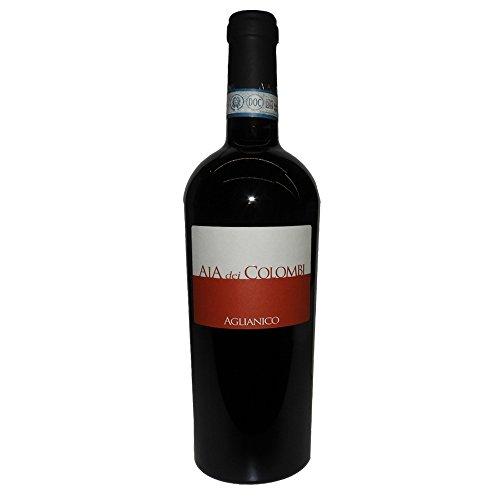 Aglianico DOC Sannio | Aia Dei Colombi | 1 Bottiglia da 75Cl Vino Italiano | Campania | Idea Regalo