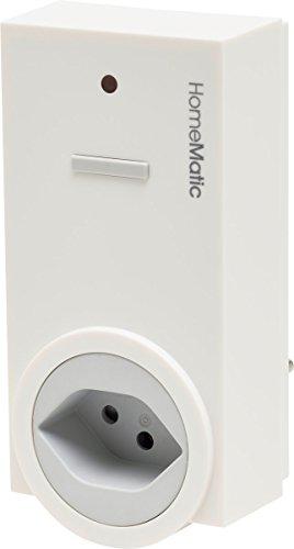 HomeMatic Funk-Schaltaktor 1-fach, Zwischenstecker, Typ J Schweiz, 141130A0 - 2