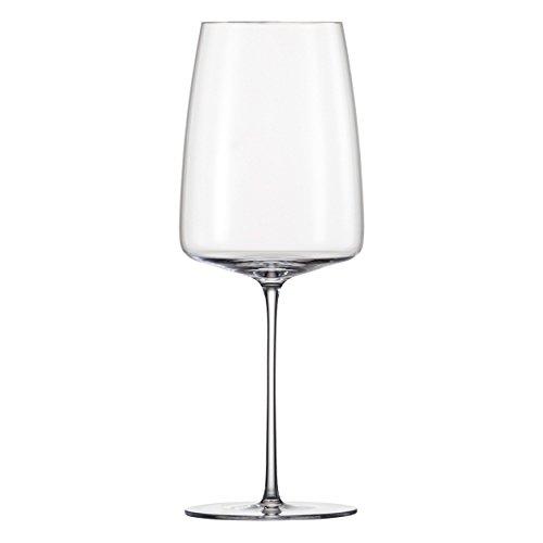 Zwiesel 1872 Simplify Fruchtig und Fein Weinglas, 6er Set, Rot / Weiß Wein Glas, Kristallglas, 555...