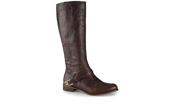 8f120fdda76 UGG Women's Channing Ii Casual Chocolate Leather Boot 9.0 - 7.5 UK ...